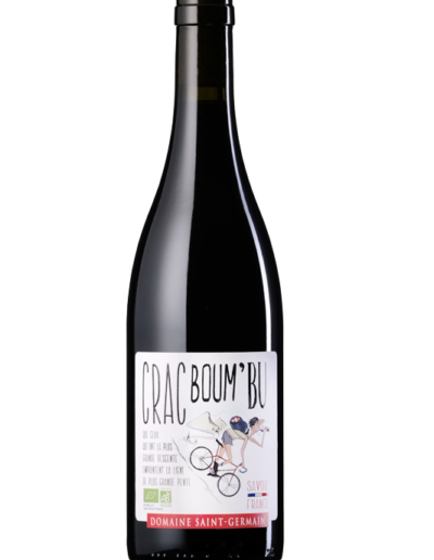 Crac Boum Bu Rouge Domaine Saint Germain vin bio Savoie