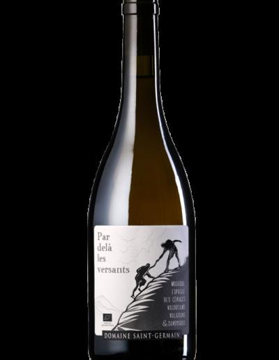 Par dela les versants blanc Domaine Saint-Germain vin bio Savoie