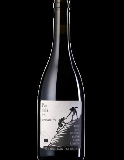Par delà les versants rouge Domaine_Saint-Germain vin bio Savoie