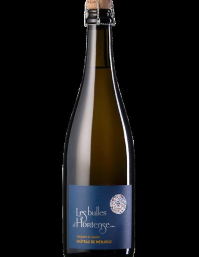 Les bulles d'Hortense, crémant de Savoie, vin bio, domaine Saint-Germain