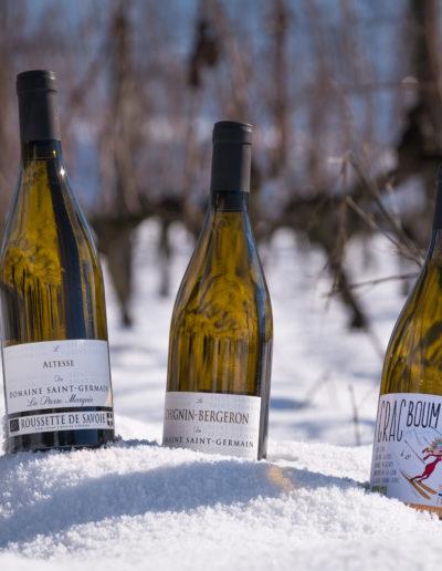 Chignin Bergeron, Crac Boum Bu, et Roussette de Savoie : 3 vins bio du Domaine Saint-Germain