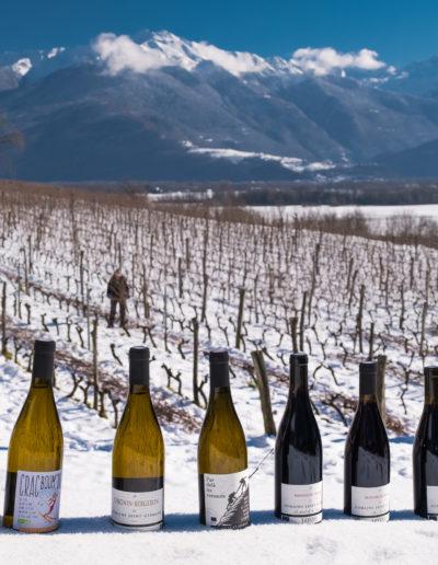 Domaine Saint-Germain : une partie de la gamme de vins bio en Savoie